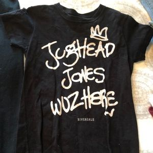 Riverdale Jughead Jones Wuz Here Tee
